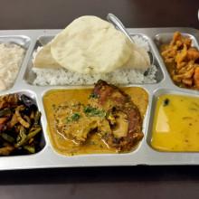 3 fish thali